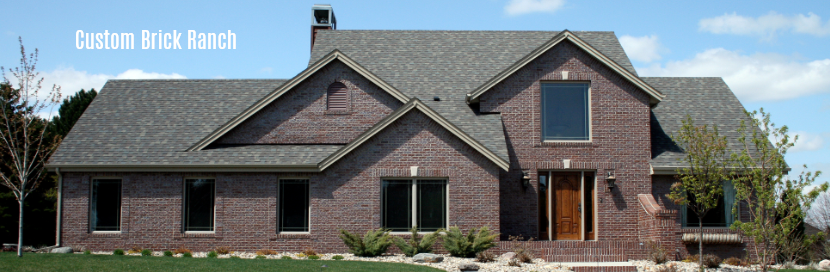 Custom brick ranch downers grove il 60515 home for Custom brick homes